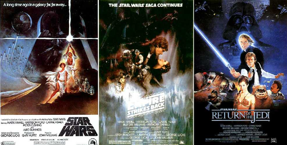 Looking For Less Frequently Seen Rotj Posters Original